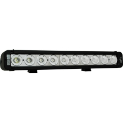 17&quot; EVO PRIME LED BAR BLACK TEN 10-WATT LED'S 40 DEGREE WIDE BEAM